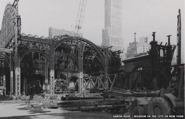 The destruction of Penn Station