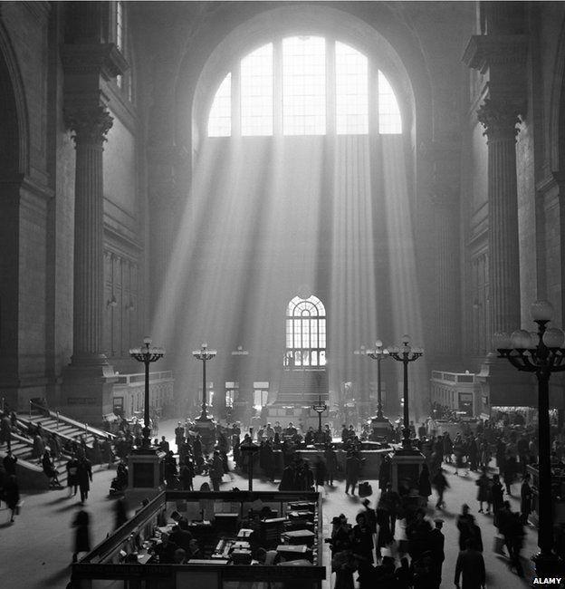 Penn station circa 1930