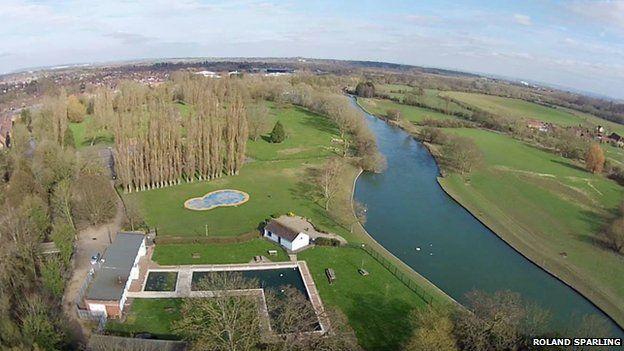Abbey Meadow pool