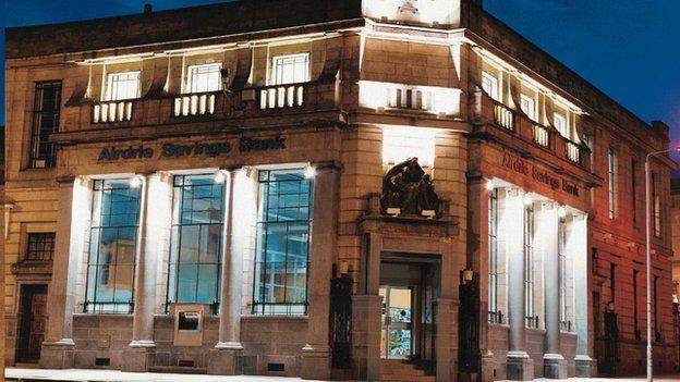Airdrie Savings Bank exterior