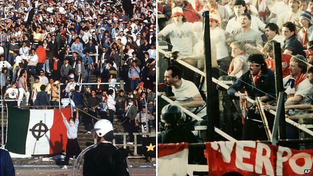 Heysel Disaster English Football S Forgotten Tragedy Bbc News
