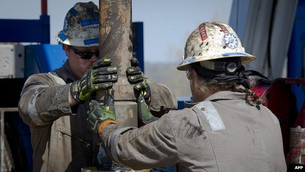 US shale gas drillers