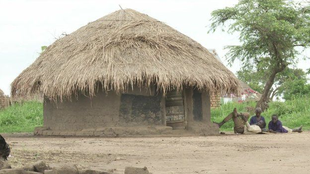 A house in Apaa in northern Uganda