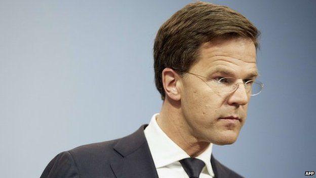 Dutch Prime Minister Mark Rutte 24 April 2015