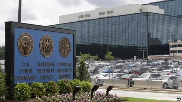 National Security Agency (NSA) campus in Fort Meade, Maryland, file