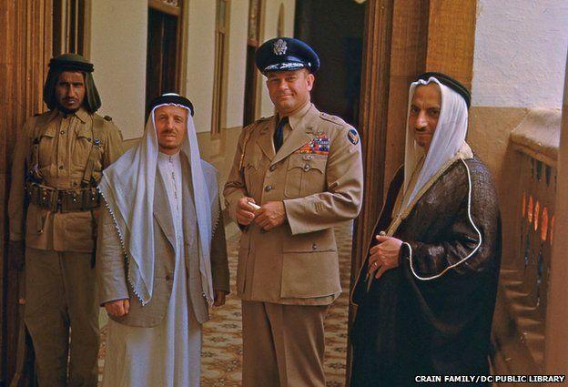 General graham and Saudi princes