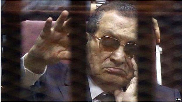 Hosni Mubarak (09/05/15)
