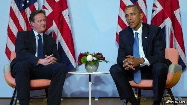 President Barack Obama and Prime Minister David Cameron