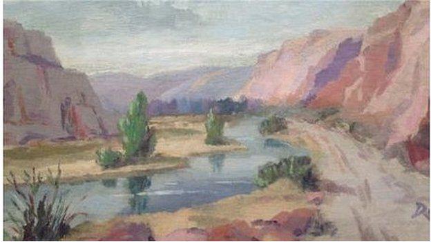 Y Daith i'r Andes, Delyth Llwyd Evans de Jones
