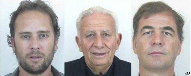 From left to right: Mariano Jinkis, Hugo Jinkis and Alejandro Burzaco