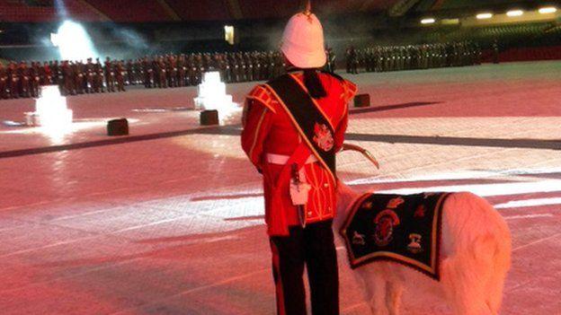 Royal Welsh ceremony