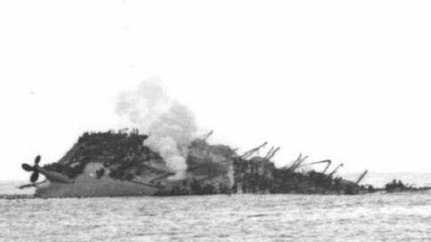 Lancastria sinking