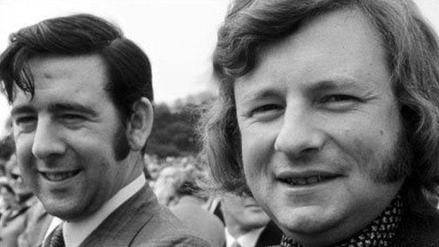 Daeth Dafydd Wigley a Dafydd Elis-Thomas i'r amlwg ar ôl cael eu hethol yn Aelodau Seneddol yn 1974