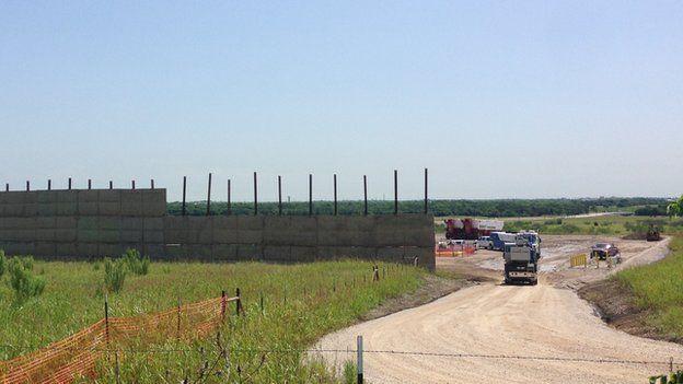 Denton fracking site