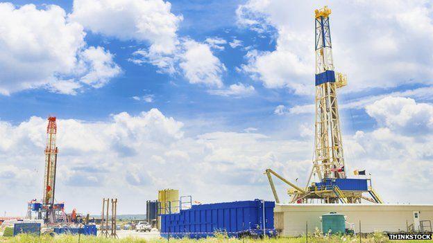 Texas shale gas drills