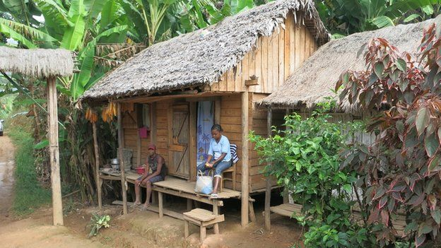 Hut in Madagascar