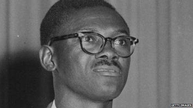 Congolese ex-prime minister Lumumba