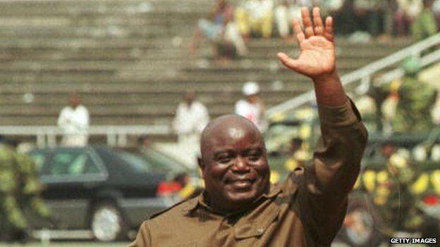 Congolese ex-leader Laurent-Desire Kabila