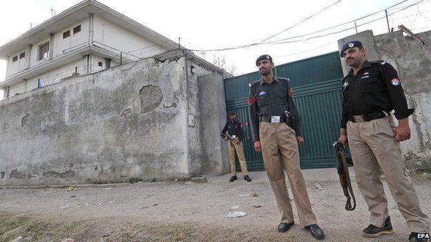 Bin Laden's compound
