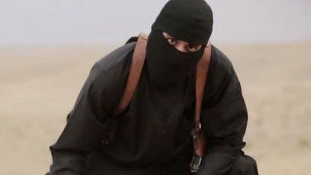 Still image of Mohammed Emwazi from an Islamic State video