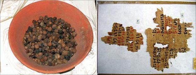 Radiocarbon dating methodology food