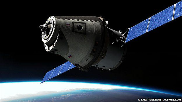 Artist's impression of the new Russian rocket built by RKK Energia (Anatoly Zak/Russianspaceweb.com)