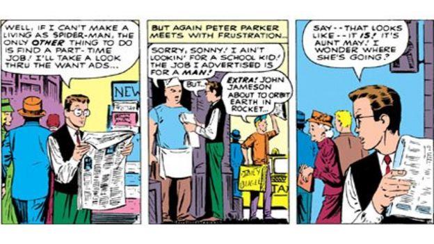 Teaching philosophy with Spider-Man - BBC News