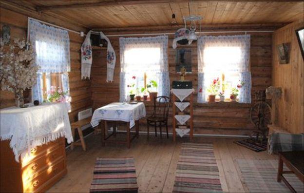Interior of Gagarin family house