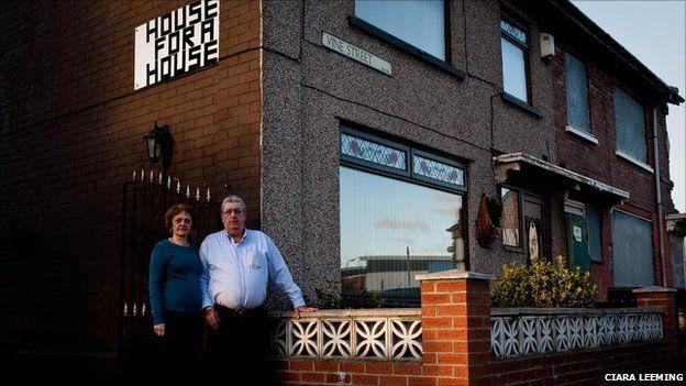 Barbara and John Yafano in Middlesbrough