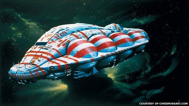 Chris Foss space illustration