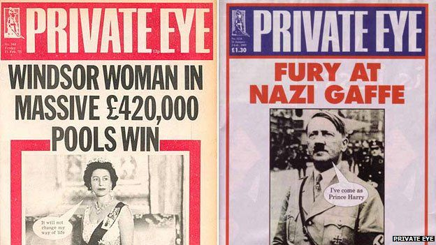 Private Eye covers