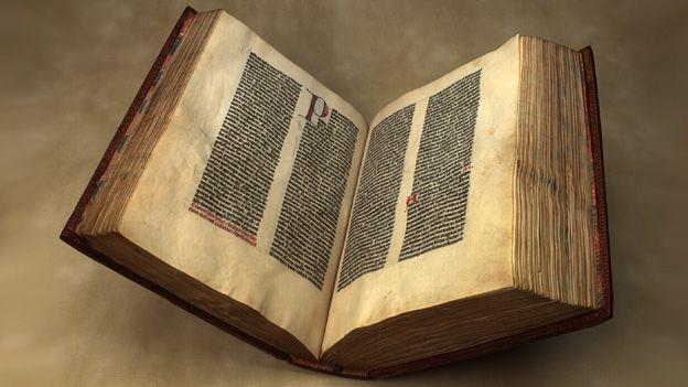 Gutenberg Bible at the British Library