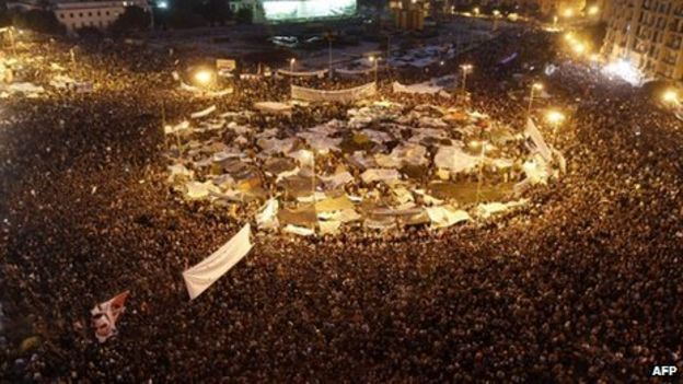 the egyptian revolution 2011 summary