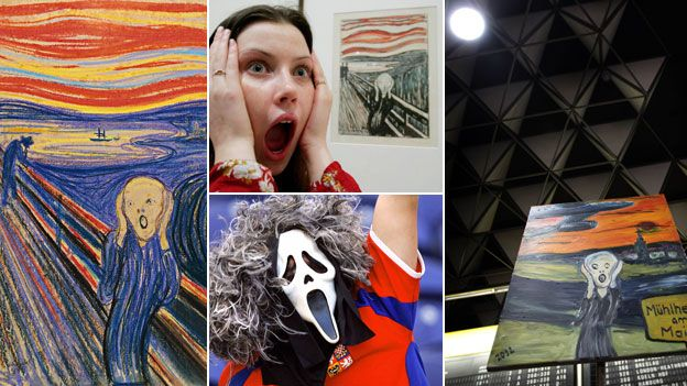 The Scream in many guises