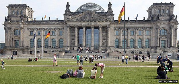 Germany's parliament building