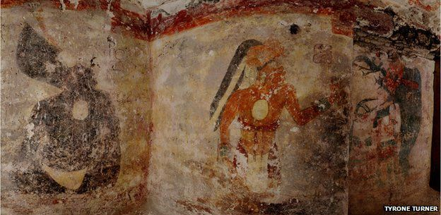 Wall of the Xultun find