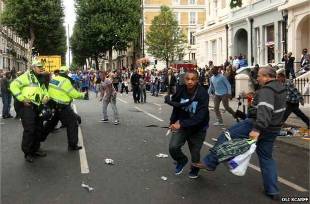 Notting Hill Carnival Stabbing by Oli Scarff.