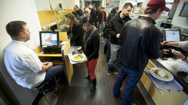 canteen queue