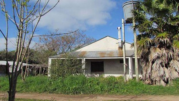 La casa de Topolansky y Mujica.