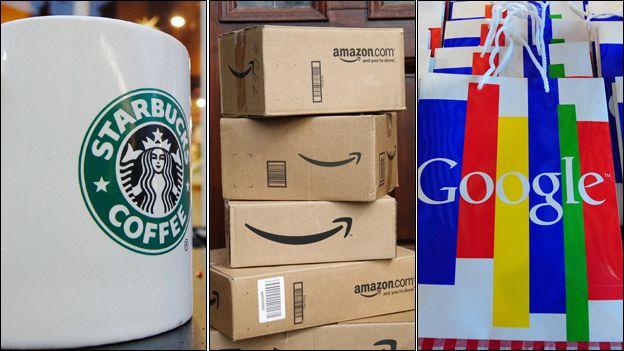 Starbucks Amazon Google