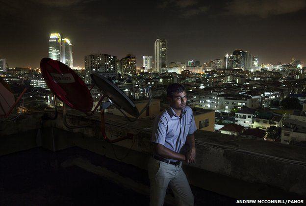 Sri Lankan refugee Paramanantham Dhushyanthan, 31, from Mannar District, pictured in Bangkok, Thailand.