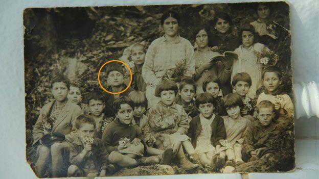 Stamatis with classmates