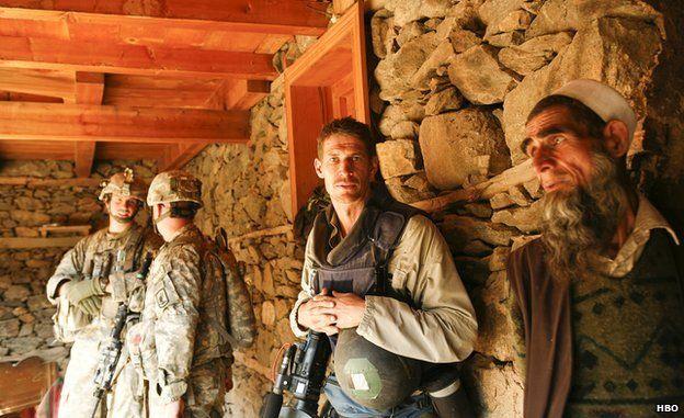 Tim Hetherington in Afghanistan, 2007