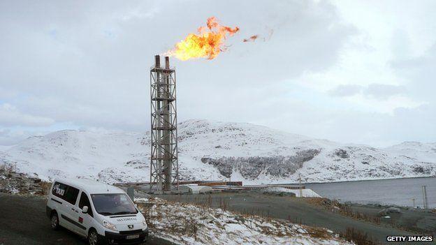 LNG plant Snoehvit