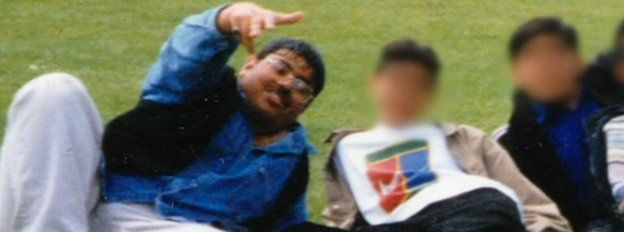 Irfan Naseer at school