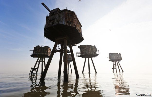 Maunsell Forts by Toby Smith