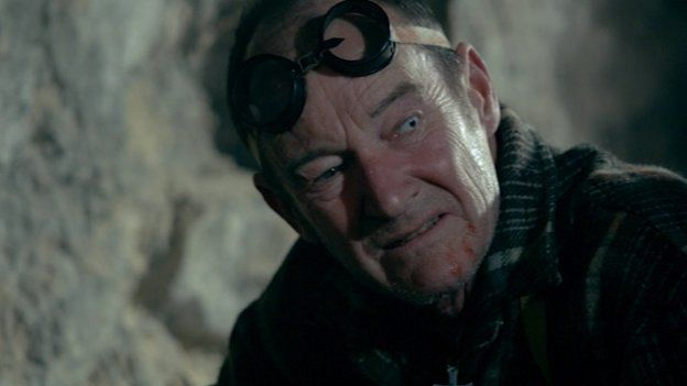 David Hayman plays Sawney Bean in a new film version of the legend