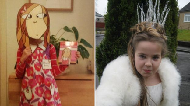 Image caption Clarice Bean and Narniau0027s White Witch  sc 1 st  BBC & World Book Day: Your dress-up dilemmas - BBC News