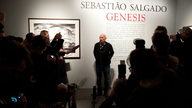 Sebastiao Salgado at the Natural History Museum