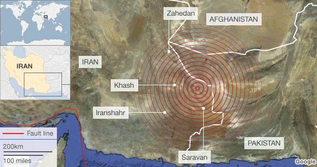 Major earthquake strikes southeast Iran BBC News